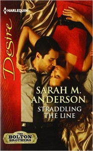 <i>Straddling the Line</i> by Sarah M. Anderson