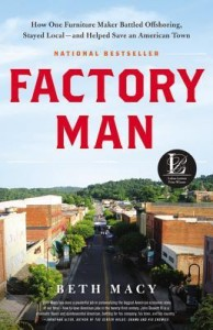 <i>Factory Man</i> by Beth Macy